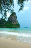 krabiparadisthailand tropisk semester Arkivfoton