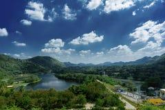 krachan nationalpark för kaeng Arkivbilder