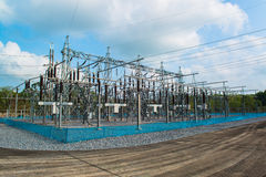 Krachtcentrale voor het maken van stroom stock foto