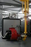 Krachtige gasboiler Stock Afbeeldingen