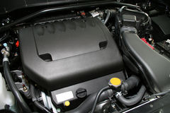 Krachtige motor Stock Foto