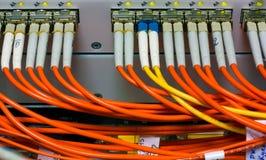 Krachtige router met 1G linecards royalty-vrije stock afbeeldingen