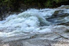 Krachtige waterval Royalty-vrije Stock Foto
