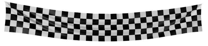 kraciaste flagę ilustracja wektor