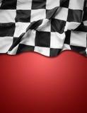 kraciaste flagę Obraz Stock