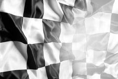kraciaste flagę Fotografia Royalty Free