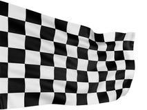kraciaste flagę Zdjęcie Royalty Free