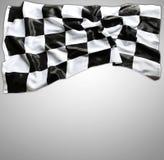 kraciaste flagę Obraz Royalty Free