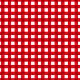 kraciaste schematu tablecloth retro tekstura Zdjęcia Stock