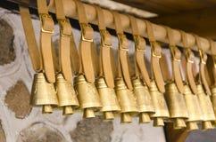 Kraczą i barani dzwony w surowym zdjęcie royalty free
