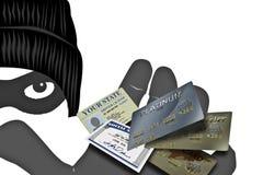 kradzież tożsamości ilustracja wektor