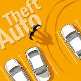 Kradzieżowy samochód Zdjęcie Stock