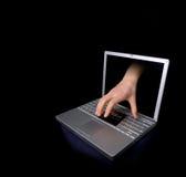 kradzież karty kredytowej Zdjęcia Stock