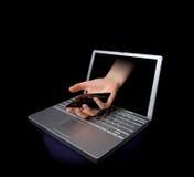 kradzież karty kredytowej Obraz Stock