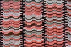 Kraebigi the roof. The roof coverings Kraebigi measure Royalty Free Stock Photo