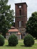 Kraenzlin-Dorfkirche-seitlich Imagen de archivo libre de regalías