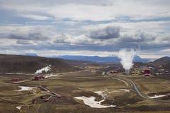 Krafla Geothermal Power Station Royalty Free Stock Image