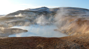 Krafla, hot spring Royalty Free Stock Image