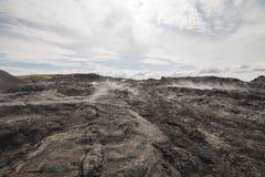 Krafla lava field Stock Photography
