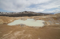 Krafla lava field Stock Images