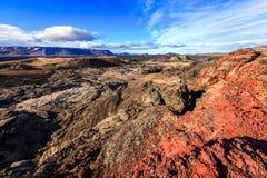 Krafla lava field Royalty Free Stock Photos