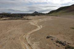Krafla volcanic area, Iceland. Royalty Free Stock Photo