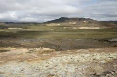 Krafla volcanic area, Iceland. Stock Image