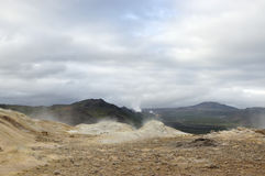 Krafla volcanic area, Iceland. Stock Photography