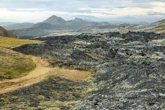 Krafla volcanic area Royalty Free Stock Image