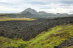 Krafla volcanic area Stock Photos