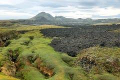 Krafla volcanic area Stock Photography