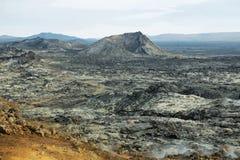 Krafla volcanic area Stock Photo
