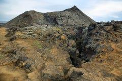 Krafla volcanic area Stock Image
