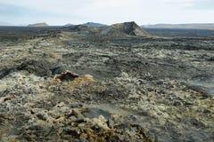 Krafla volcanic area Royalty Free Stock Images