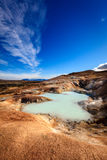 Krafla volcanic field Royalty Free Stock Photos