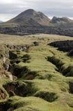 Krafla volcanic rifts, Iceland. Royalty Free Stock Photography