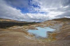 Krafla Volcanic System royalty free stock photo