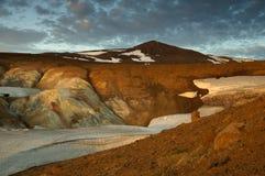 Krafla volcano Royalty Free Stock Photography