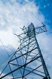 Kraftübertragungkontrollturm lizenzfreie stockfotos