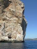 Kraft über dem Meer Stockfoto