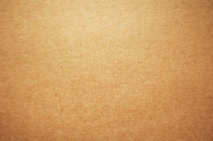 Kraft brown paper background Stock Image