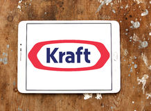 Kraft Foods logo royaltyfri bild