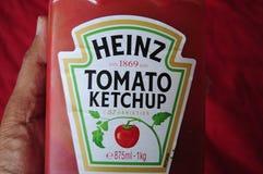 Kraft hein tomato ketchup 57  danish capital. Copenhagen /Denmark./ 26.June 2019/ American Kraft Heinz or Hein Tomato  Ketchup in danish home ind anish capital royalty free stock photos