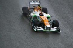 Kraft Indien F1 Fotografering för Bildbyråer