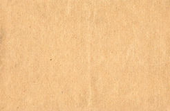 Craft paper. Sheet of kraft paper. Good file for background or scrapbook Royalty Free Stock Photo
