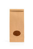 Kraft paper pack Stock Photography