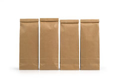 Kraft Paper Packages Royalty Free Stock Photo