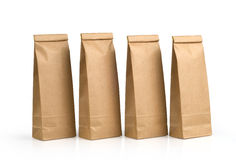 Kraft Paper Packages Stock Photography
