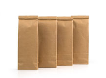 Kraft paper packages Royalty Free Stock Photography