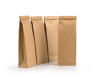 Kraft paper packages Stock Photo